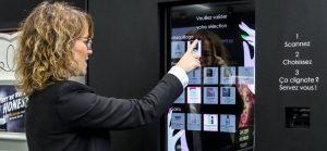 Attente consommateur digitalisation borne tactile