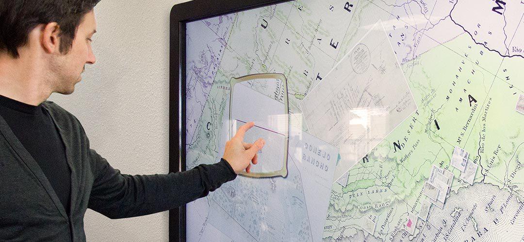 Les bornes tactiles, véritables guides pour les touristes