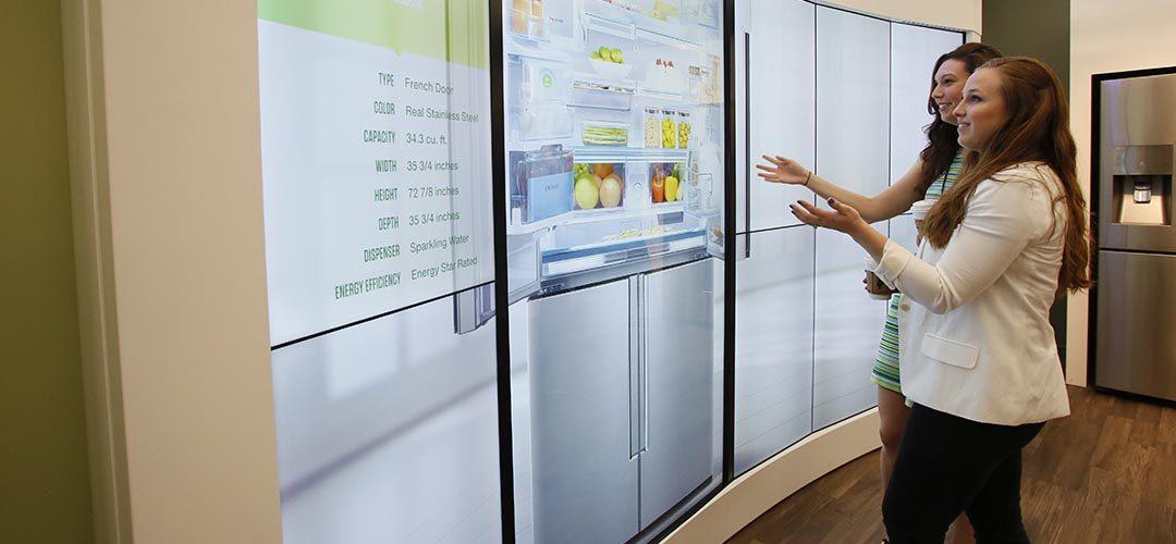 Les dispositifs tactiles améliorent le parcours d'achat des consommateurs