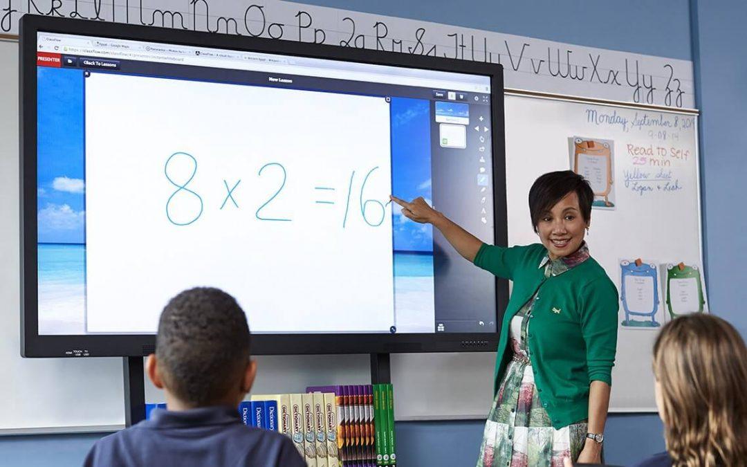 L'essor des écrans interactifs dans l'enseignement