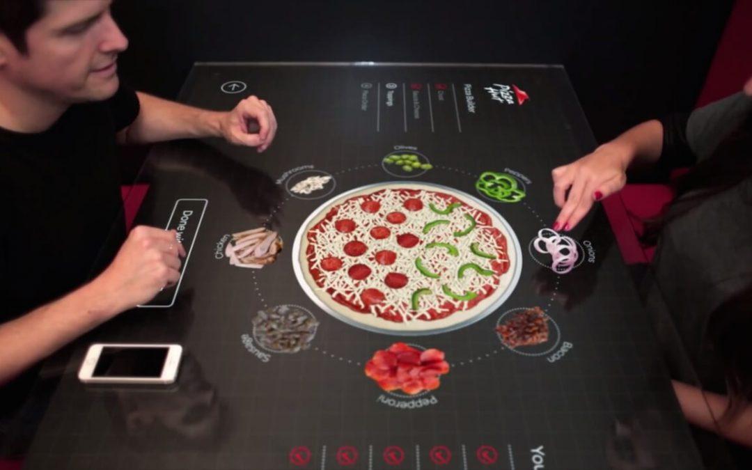La table tactile au restaurant pour repenser l'expérience de visite