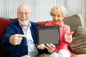 Tablette tactile personnes agées